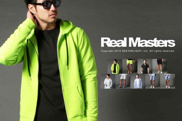 Real Masters リアルマスターズの2019年夏の新作メンズ服、入荷しました!
